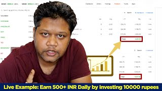 Earn 500+ Daily by investing only 10000 Rupees || Live Trading Session || Intraday Ep-02 #Money