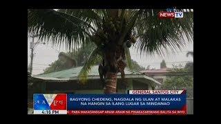 BP: Bagyong Chedeng, nagdala ng ulan at malakas na hangin sa ilang lugar sa Mindanao