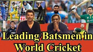 Top Batsmen | Warner,Rohit In Fab 4 ? | Rashid Latif | BolWasim |