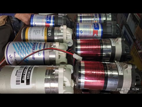 Best Booster Motor For Domestic RO machine | Ro ke liye best pump motor kaun c hai