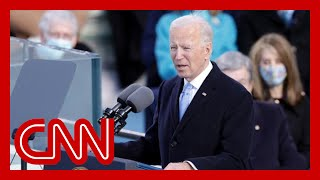 Watch President Joe Biden's full inauguration speech