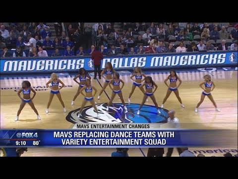 Dallas Mavericks get rid of dancers, creating family friendly 'entertainment squad'