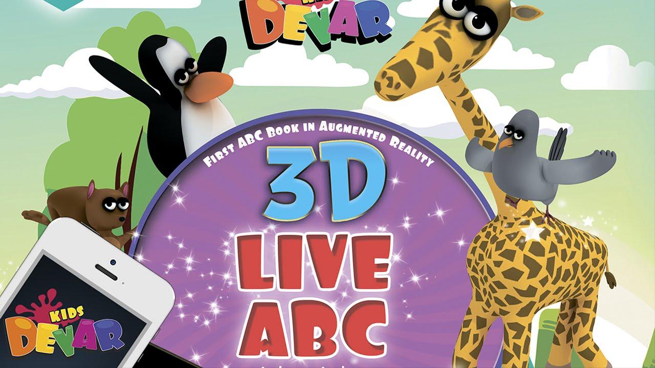 Живая Азбука 3D английский язык video preview