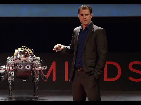 Marco Hutter: The Four-Legged Robot (2015 WORLD.MINDS)