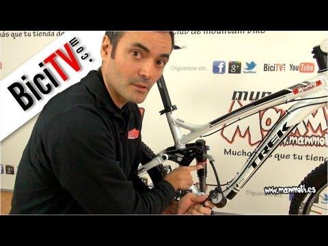 Ajuste de la suspensión de la bicicleta; El SAG