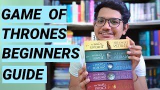 Game of thrones (or) A song of ice and fire - Beginners reading guide | The book dragon
