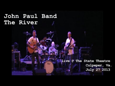 "John Paul Band performs ""The River"" live @ The State Theatre in Culpeper, Va. July 27 2013"