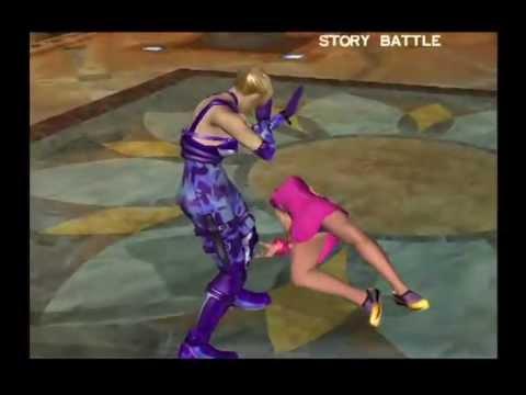 Tekken 4 Walkthrough Playstation 2 Story Battle As Law By