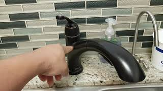 Fix kitchen faucet hot water low pressure