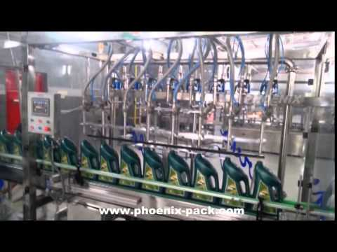 Servo Oil Lubricants Filling Machine