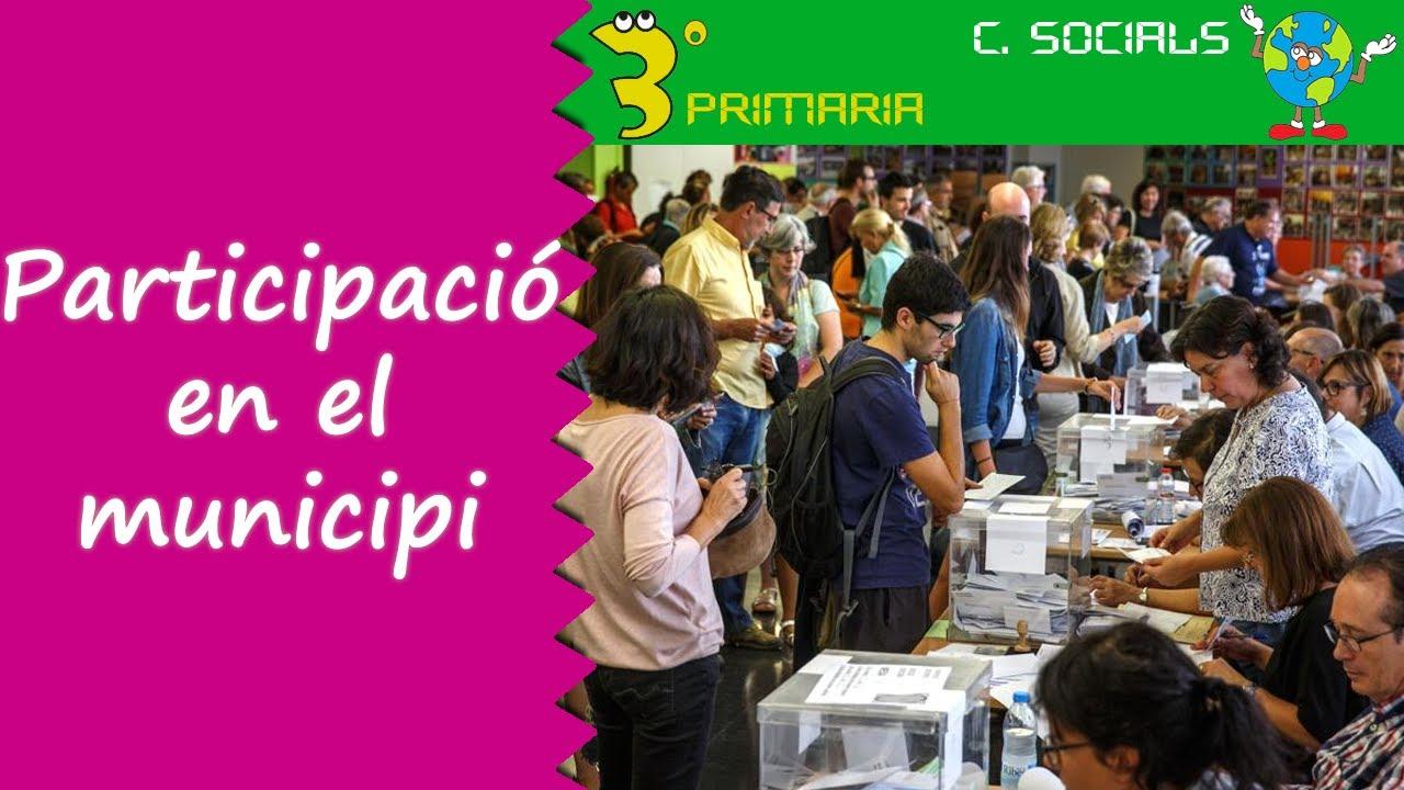Ciències Socials. 3r Primària. Tema 3. Participem en el nostre municipi
