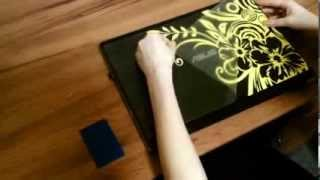 How To Apply Vinyl Decal by Tsingy Vinyl Decal Graphics on your laptop and macbook