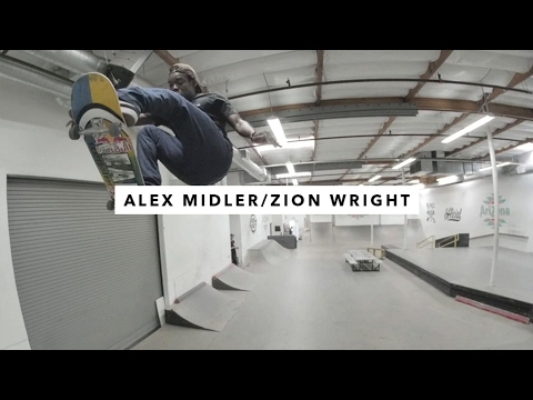 TWS Park: Alex Midler and Zion Wright | TransWorld SKATEboarding