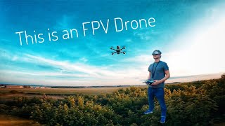 FPV Freestyle Drone Flying