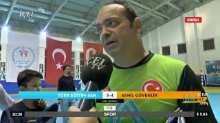 #Canlı İçelTV Futsal CUP Güz Kupası 2. Tur Türk Eğitim SEN - Sahil Güvenlik