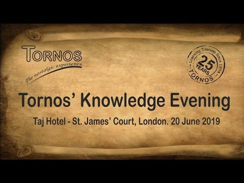 Tornos' Knowledge Evening - 2019, London