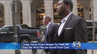 Judge Denies Prison Release For Meek Mill