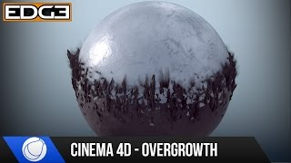 Cinema 4D Mograph Tutorial - Overgrowth Transition Effect & Rendering HD