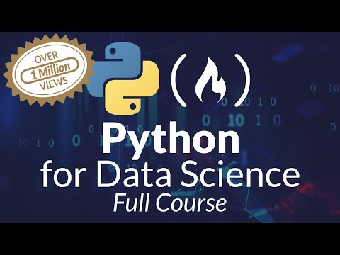 Python for Data Science - Course for Beginners (Learn Python, Pandas, NumPy, Matplotlib)
