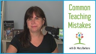 Common Teaching Mistakes to Avoid for Children with Autism