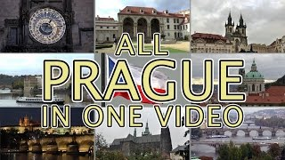 100 THINGS TO SEE in PRAGUE. Most comprehensive video tour of PRAGUE.