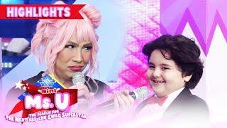 Jordan jokes about Vice's armpit | It's Showtime Mini Miss U