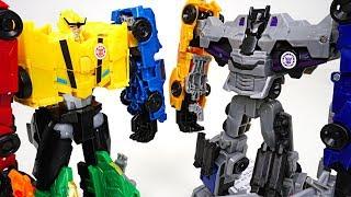 Transformers RID Combiner Force team 5 combine Menasor vs Ultra Bee : Bumblebee  - DuDuPopTOY