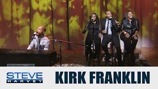 "Kirk Franklin performs ""Wanna Be Happy?"" || STEVE HARVEY"