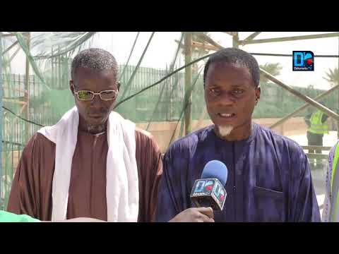 TOUBA- Ecotra embellit le mausolée de Serigne Fallou Mbacké