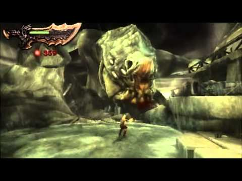 God of War - Ghost of Sparta demo gameplay (1 of 2) [PSP]