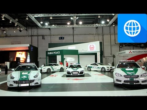 Top 16 Dubai Police SuperCars
