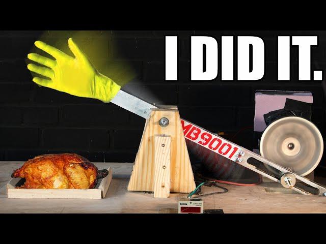 Инженер-энтузиаст приготовил курицу, хорошенько отшлепав ее 135 000 раз