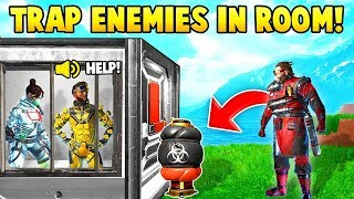 APEX LEGENDS: 200IQ TRAP TRICK! (Funny & Epic Moments #2)