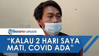 Viral Video Pria Tantang Pegang Jenazah Pasien Covid-19: Kalau 2 Hari Saya Mati Berarti Covid Ada