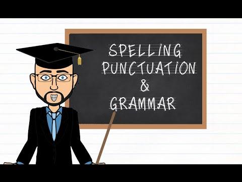 Grammar Tuesday: Spelling