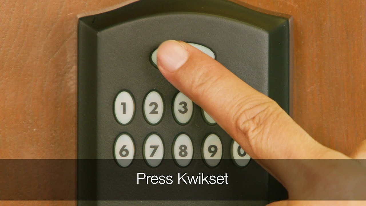 Programming the Kwikset Smartcode 955