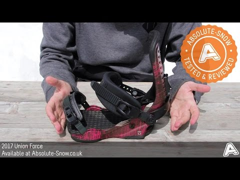 2016 / 2017 | Union Force Snowboard Bindings | Video Review