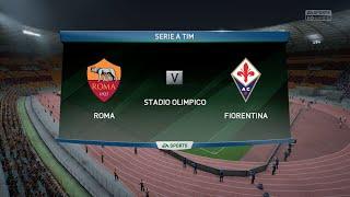 FIFA 16 - AS Roma Vs. Fiorentina @ Stadio Olimpico