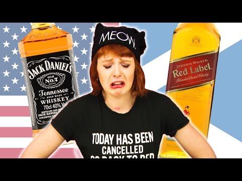 American vs Scottish Whisky