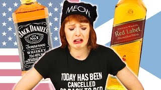 American vs Scottish Whisky