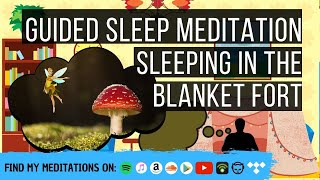 Sleeping In The Blanket Fort 😴 LONG SLEEP STORY FOR GROWNUPS 💤 Reduce Stress, Anxiety & Worry