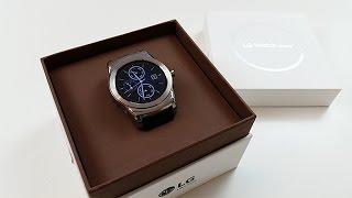 Unboxing - LG Watch Urbane Smartwatch - Die beste Smartwacht zurzeit? - Dr. UnboxKing - Deutsch