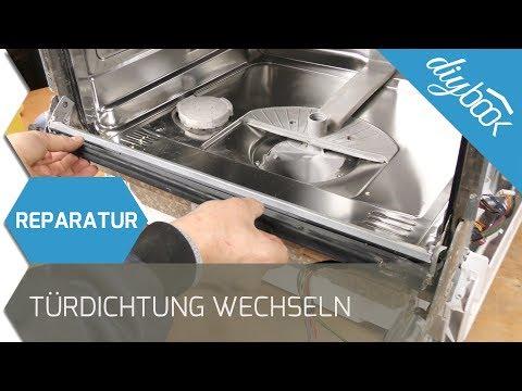 Siemens Geschirrspüler - Türdichtung wechseln