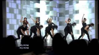 4minute - I my me mine (포미닛 - I my me mine) @ SBS Inkigayo 인기가요 100711