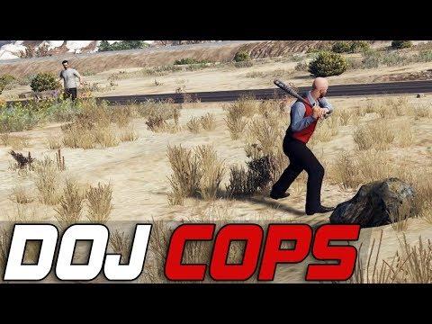 Dept. of Justice Cops #258 - Impromptu Baseball Game! (Civilian)