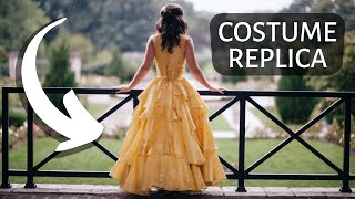 Belle's Yellow Ballgown - Costume Recreation - Beauty and the Beast 2017