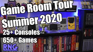 Game Room Tour Summer 2020 : Rob Noire Gaming - Look At All This Random Stuff I Have!