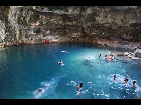 Cenotes Samula y Xkeken. Impresionantes cenotes en Yucatan.