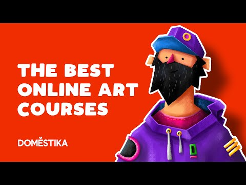 The Best Online Art Courses ( My DOMESTIKA Library Review ) Part 1