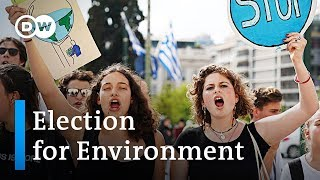 EU Elections 2019: Environmental protection now a top issue | DW News